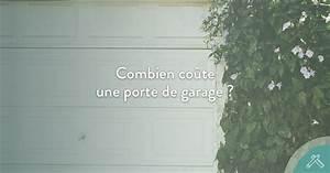 Combien coute une porte de garage blog jaime mon artisan for Combien coute une porte de garage