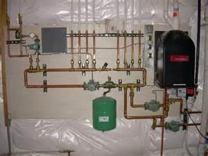 radiant floor heat boilers sidearms