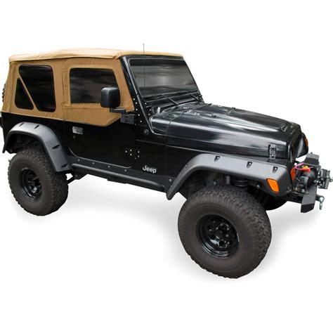 jeep wrangler 2 door soft top new soft top denim spice jeep wrangler tj w upper 2 door
