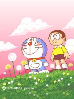 gambar foto dp bbm kartun doraemon bergerak lucu