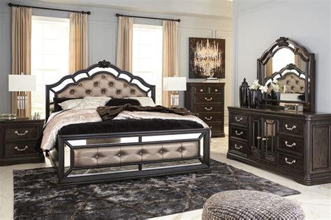 ashleys furniture bedroom sets sypialnia b728 komplet queen meble stylowe 14065 | b728 31 36 46 58 56 97 92 q417 hires