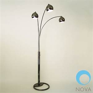3 bulb floor lamp lighting and ceiling fans for Livorno 3 way floor lamp