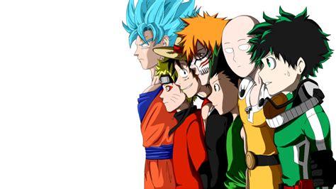 Anime Crossover Dragon Ball Hunter × Hunter One Punch-man
