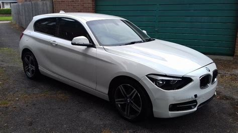 bmw 116i f20 2013 63 bmw 1 series f20 116i turbo sport 6 sped light damage salvage repairable in west
