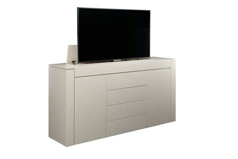 tv lift cabinet design custom modern motorized tv lift cabinet