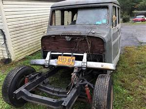 1950 Willys Wagon Barn Find Rat Hot Rod Classic Rare 2 Wd