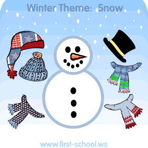 snow and snowman theme preschool activities and crafts 462 | snow theme