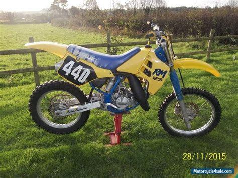 Suzuki Sale by 1989 Suzuki Rm 125 For Sale In United Kingdom