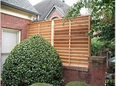 Garden style tub, outdoor privacy screens for louvered
