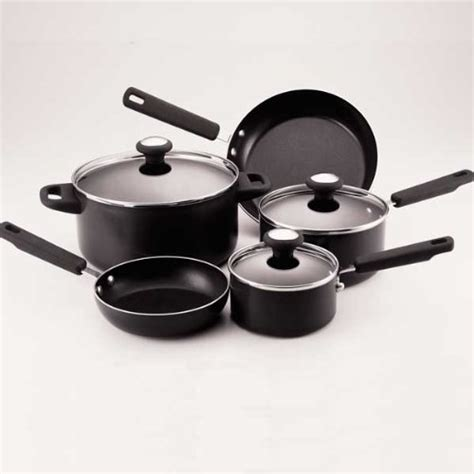 atat  buy farberware cooks kitchen  piece cookware set  shipping kitchen cookware