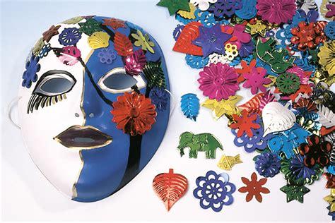 masques 224 d 233 corer avec grandes paillettes fantaisie et stylo peinture 3d carnaval f 234 tes