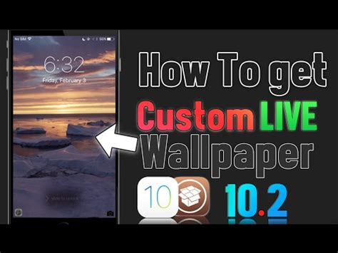 Jailbreak Live Wallpapers by How To Get Custom Live Wallpapers On Iphone Ios 10 2