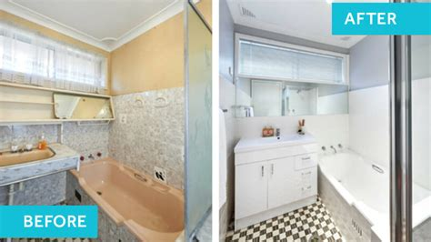 Before And After Pictures Of Painted Bathroom Tiles by Beautiful Bathrooms On A Budget Renovating For Profit