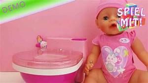 Baby Born Auf Rechnung : baby born toilette baby born macht pipi auf dem t pfchen unboxing und demo youtube ~ Themetempest.com Abrechnung