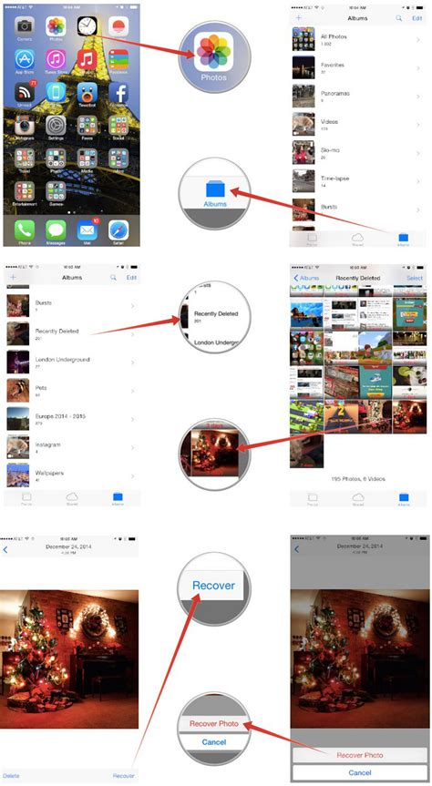 iphone deleted photos recover iphone 6s photos deleted in ios 9 ios 8 100