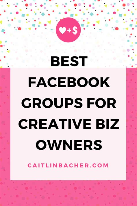 best for owners groups for creative biz owners