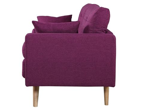 Divano Roma Divano Roma Purple Sofa Baci Living Room