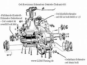 Gear Box  Complete  Overhauled    Tripode  In Trabant 601