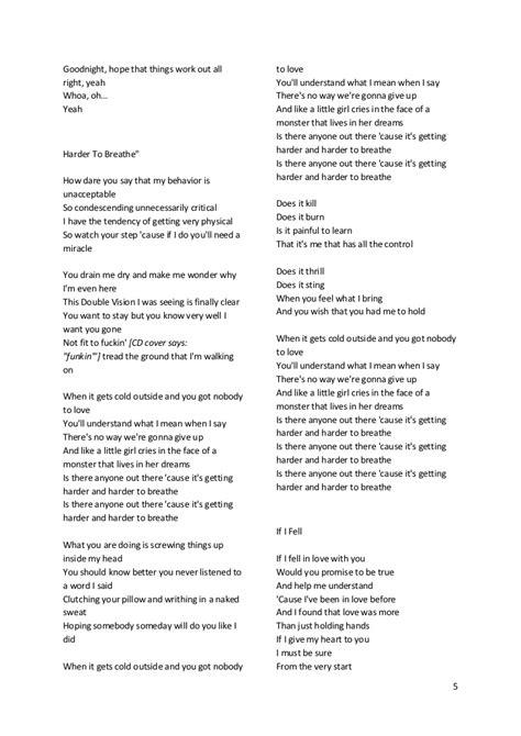 maroon 5 lagu maroon5 s songs lyric lirik lagu maroon5
