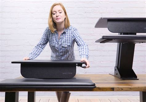 uplift standing desk converter 187 gadget flow