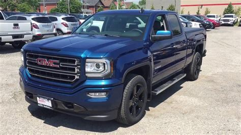 2017 Gmc Sierra 1500 4wd Double Cab Elevation Blue Oshawa