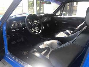 1966 Ford Mustang Blue Rwd Manual Fastback For Sale
