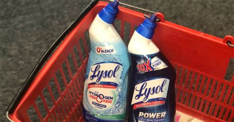 Three New Lysol Coupons = Toilet Bowl Cleaner Just $1.15