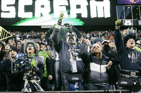 seattle seahawks fans    set guinness world