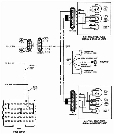 2003 Chevy Up Wiring Diagram by Where Is The Light Switch On A 1988 Chevy Up