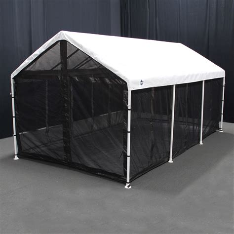 canopy with screen king canopy canopy screen room 10x20 accessory