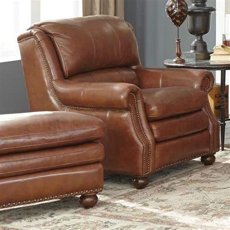 leather sofa and ottoman set craftmaster l1646 traditional leather chair and ottoman