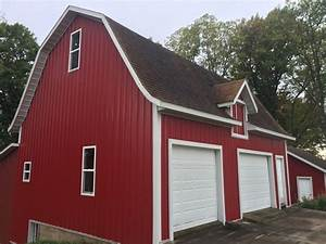 how to winterize your agricultural pole barn properly With barn red color schemes
