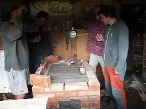 Stavba zahradní pece