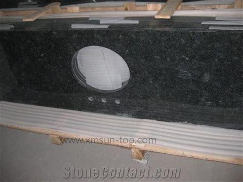china black granite bathroom counter top dark black