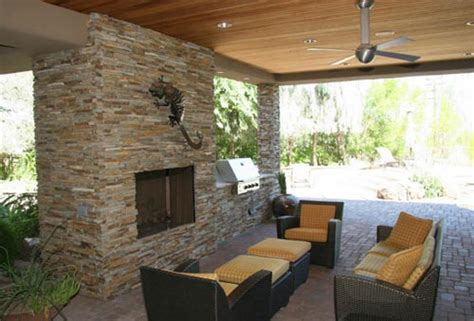 patio designs with fireplace fireplace the blog on cheap faux stone panels
