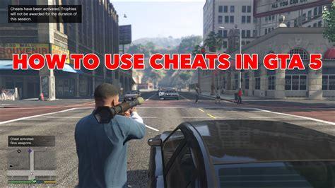 How To Use Gta 5 Cheats