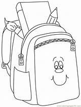 Bag Coloring Pages Preschool Kindergarten Worksheets Crafts sketch template