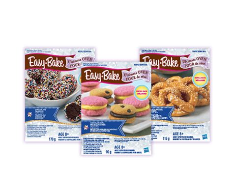 Easybake Oven  Easybake Recipes Hasbro