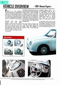 Nissan Figaro Workshop Manual