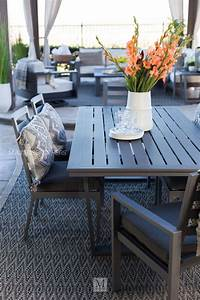 Casual, Rectangular, Patio, Dining, Table, In, Gray