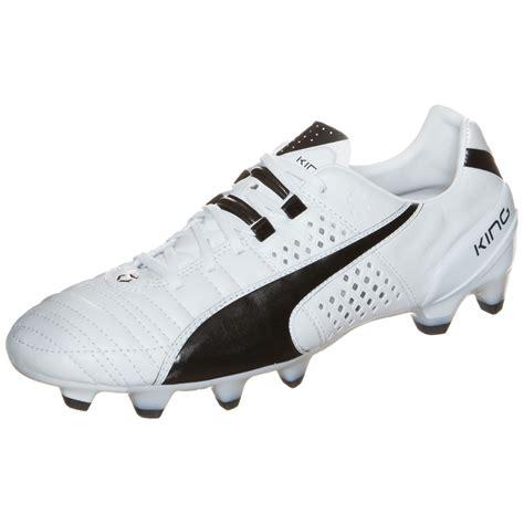 Puma King II FG Mens Football Boots  WhiteBlack Online