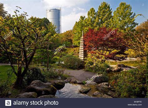 Japanischer Garten Bonn Rheinaue by Japanischer Garten Mit Post Tower Rheinaue Bonn