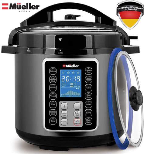 cooker pressure crock mueller 6q pot instant german