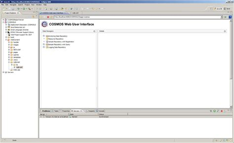 eclipse modify templates cosmos dg extending the web user interface framework