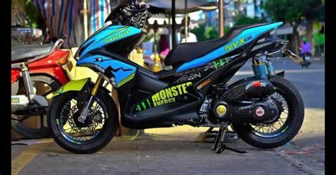 Aerox Modification by Yamaha Aerox 155 Indonesia Yamaha Aerox 155 Thailand