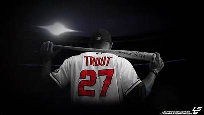 Trout Mike Desktop Wallpapers Cool Angels Angeles