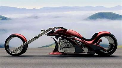 Motorcycle Chopper Future Wallpapers Concept Futuristic Motorcycles
