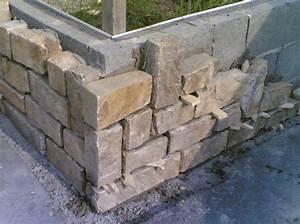 comment habiller un muret en parpaing avec de la pierre With habiller un mur exterieur en bois 2 bois espace produits