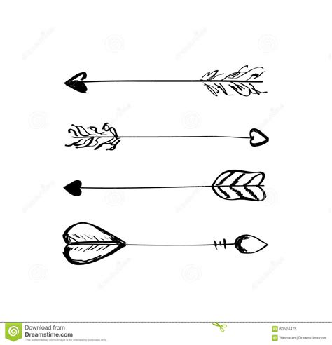 drawn feather feather arrow pencil   color drawn