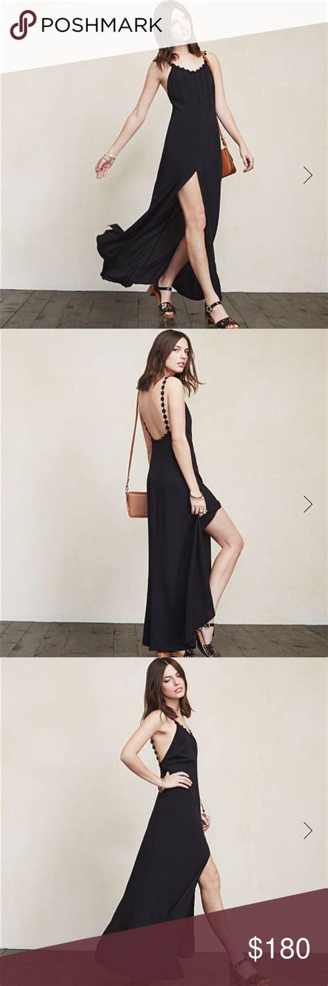 Reformation Jillian Dress in Black, sz 8 | Jillian dress ...